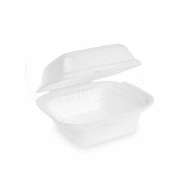 Box na hamburger velký, bílý 145 x 133 x 75 mm [125 ks]